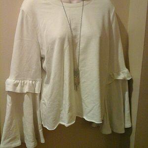 Candies Bell Sleeve Sweatshirt